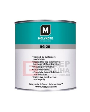 Змазка Molykote BG-20 Synthetic Bearing Grease, 100г